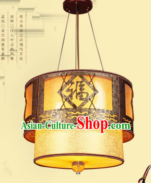 Traditional Chinese Hanging Lanterns Handmade Painting Palace Ceiling Lantern Ancient Lamp