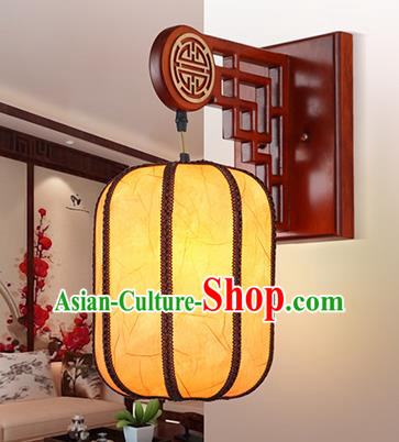 China Handmade Parchment Wall Lantern Wax Gourd Lanterns Traditional Lamp
