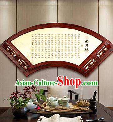 China Handmade Parchment Wall Lantern Wood Carving Disciple Gauge Lanterns Traditional Lamp