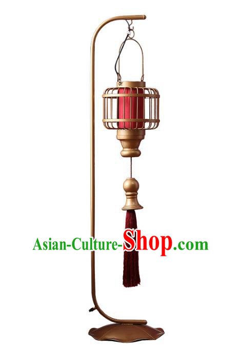 Thailand Handmade Iron Floor Lantern Southeast Asian Lanterns Lantern Traditional Lamp