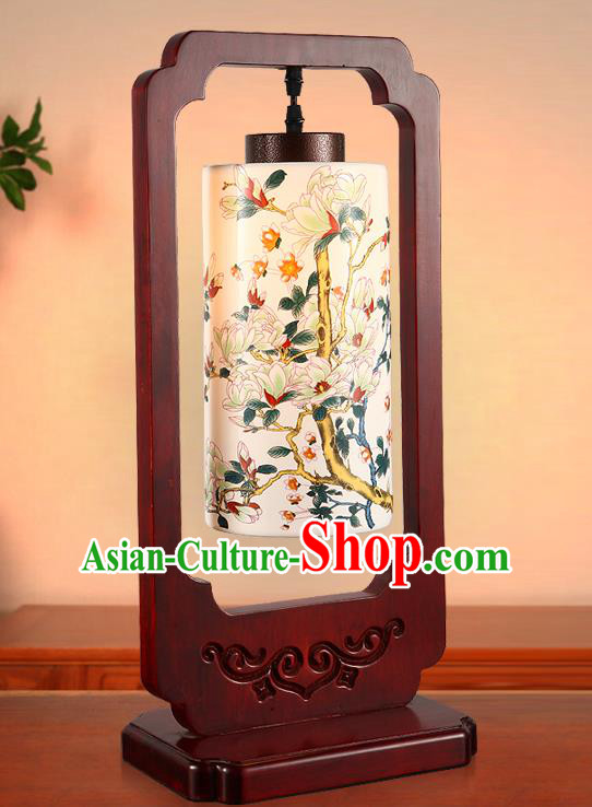 China Handmade Desk Lantern Painting Lanterns Traditional Lamp
