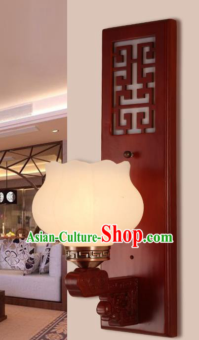 China Handmade Lanterns Wall Lantern Ancient Wood Lanterns Traditional Lamp