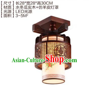 Traditional Chinese Handmade Lantern Wood Carving Lantern Ancient Palace Ceiling Lanterns