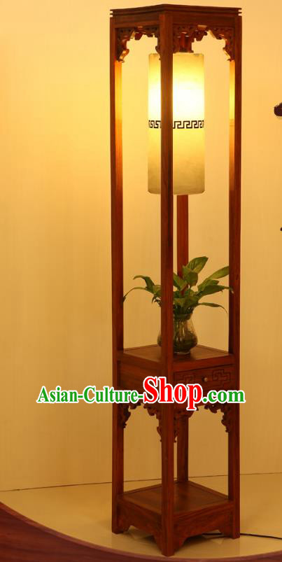 China Handmade Marble Lanterns Palace Floor Lantern Ancient Wood Lanterns Traditional Lamp