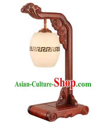 China Handmade Rosewood Carving Lanterns Palace Desk Lantern Ancient Lanterns Traditional Lamp