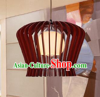 Traditional Chinese Handmade Hanging Lantern Palace Wood Ceiling Lanterns Ancient Lamp