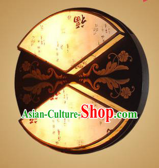 China Handmade Wood Wall Lanterns Painted Palace Lantern Ancient Lanterns Traditional Lamp