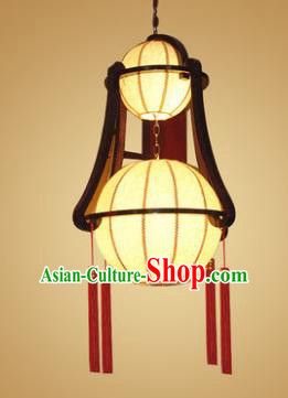 Traditional Chinese Hanging Palace Lantern Handmade New Year Ceiling Lanterns Ancient Lamp