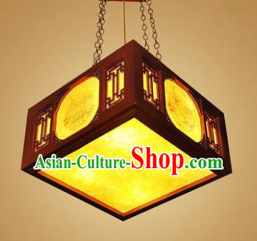 Traditional Chinese Hanging Palace Lantern Handmade Ceiling Lanterns Ancient Lamp