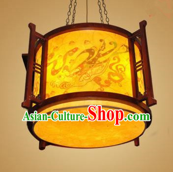 Traditional Chinese Hanging Palace Lantern Handmade Parchment Ceiling Lanterns Ancient Lamp
