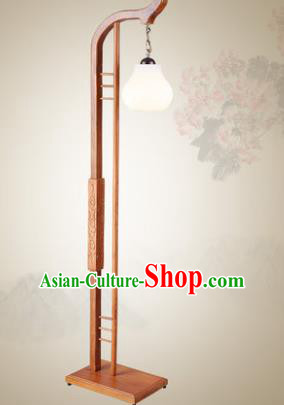 Traditional Chinese Wood Palace Lantern Handmade Floor Lanterns Ancient Lamp