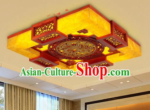 Top Grade Handmade Wood Palace Lanterns Traditional Chinese Lantern Ancient Ceiling Lanterns