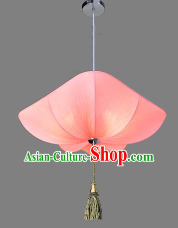 Top Grade Handmade Pink Lanterns Traditional Chinese Hanging Palace Lantern Ancient Lanterns