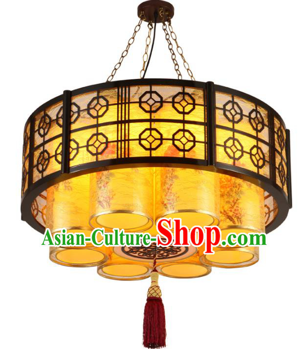Top Grade Handmade Palace Lanterns Traditional Chinese New Year Lantern Ancient Ceiling Lanterns