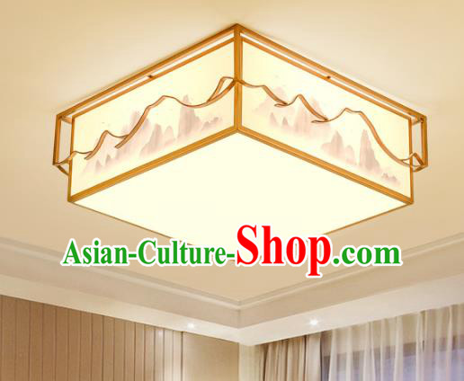 China Handmade Ceiling Lanterns Traditional Chinese Painted Palace Lantern Ancient Lanterns