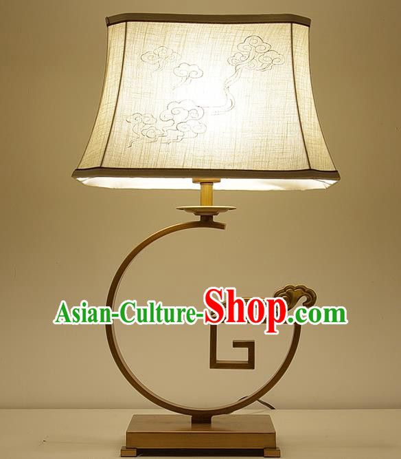 Traditional Chinese Palace Lantern Handmade Painting Clouds Desk Lanterns Ancient Lamp