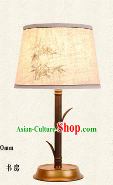 Traditional Chinese Palace Lantern Handmade Painted Bamboo Desk Lanterns Ancient Lamp