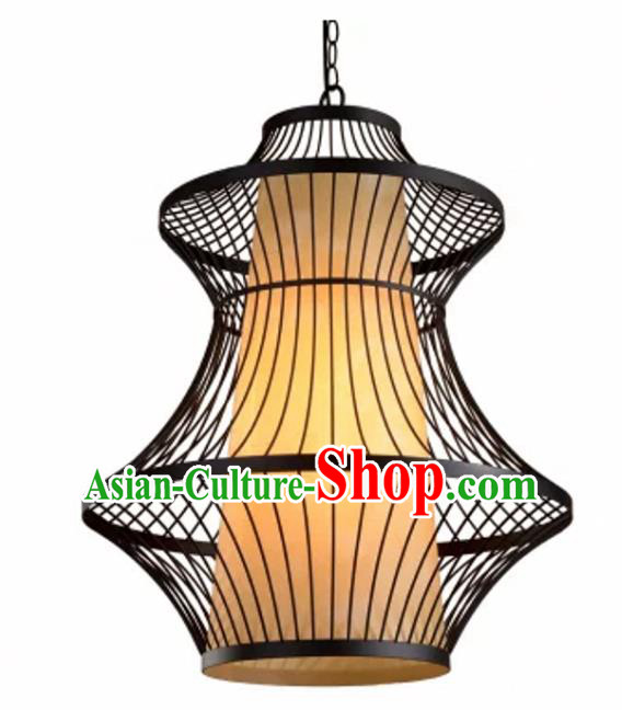 Top Grade Handmade Palace Lanterns Traditional Chinese Iron Lantern Ancient Ceiling Lanterns