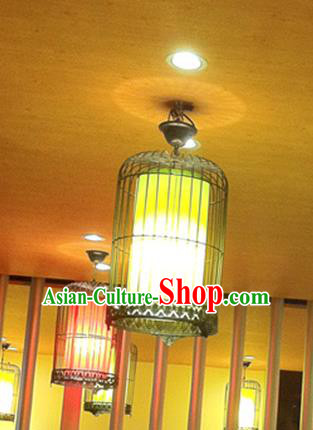 Top Grade Handmade Iron Lanterns Traditional Chinese Palace Lantern Ancient Ceiling Lanterns