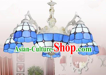 Top Grade Handmade Hanging Lanterns Traditional Chinese Six-Lights Palace Lantern Ancient Ceiling Lanterns