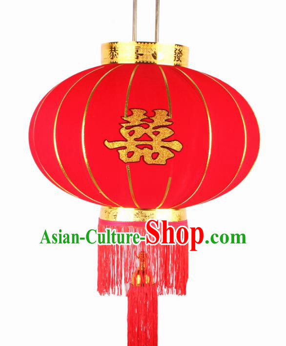 China Handmade Wedding Lanterns Traditional Chinese Red Palace Lantern Ancient Lanterns