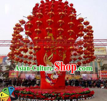 Handmade China New Year Lamplight Decorations LED Lamp Lantern Festival Lights Tree