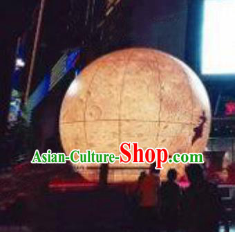 Handmade China Mid-Autumn Festival Decorations Moon Lanterns Stage Display Lamp