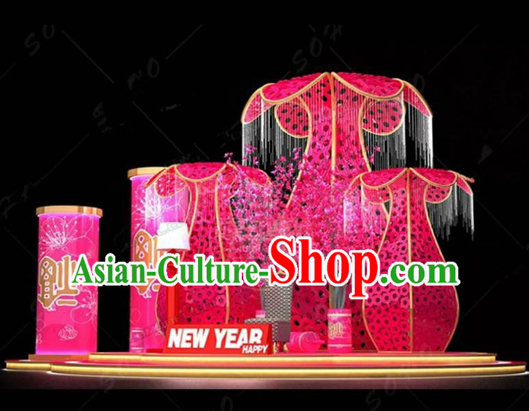 China Traditional New Year Lamp Lamplight Decorations Stage Display Lanterns