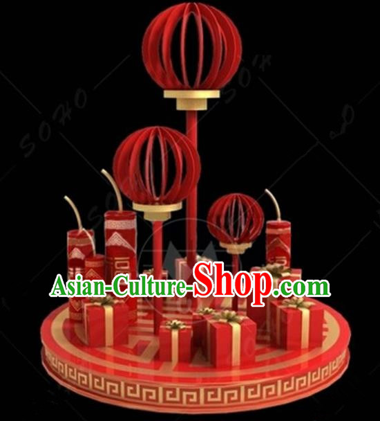 China Traditional New Year Lamp Decorations Lamplight Stage Display Lanterns