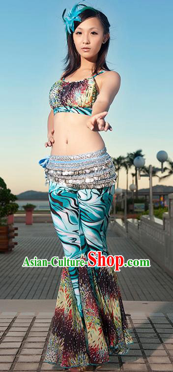 Indian Traditional Oriental Bollywood Dance Clothing Belly Dance Sexy Costume for Women