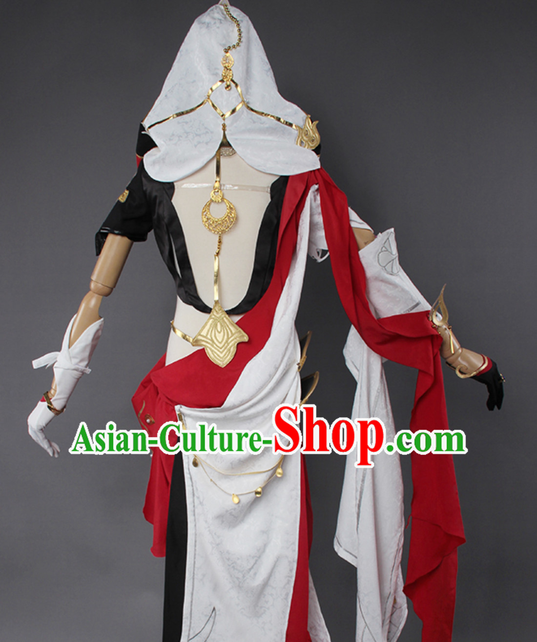 Asian Sexy Style Future Warrior Anime Costumes Superhero Female Beauty Costume Complete Set