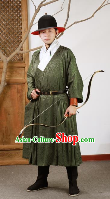Chinese Ancient Ming Dynasty Imperial Bodyguard Embroidered Costume for Men
