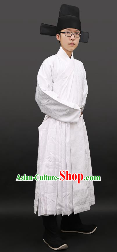 Chinese Ming Dynasty Imperial Guards Costume Ancient Swordsman Clothing for Men