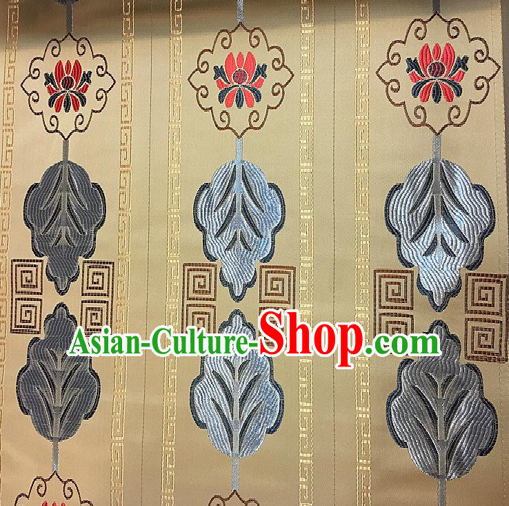 Chinese Traditional Fabric Tang Suit Pattern Brocade Chinese Fabric Asian Cheongsam Material
