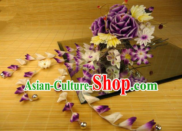 Traditional Japanese Hair Accessories Kimono Hairpins for Women