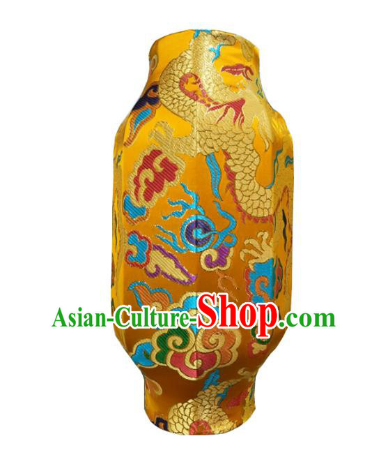 Traditional Chinese Handmade Ancient Lantern Dragon Pattern Lanterns Festival Lamps