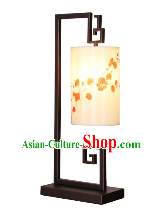 Handmade Traditional Chinese Lantern Desk Lamp Painting Lantern
