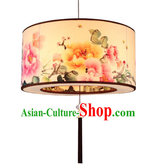 Traditional Chinese Ancient Palace Lantern Sheepskin Ceiling Lanterns Hanging Lanern
