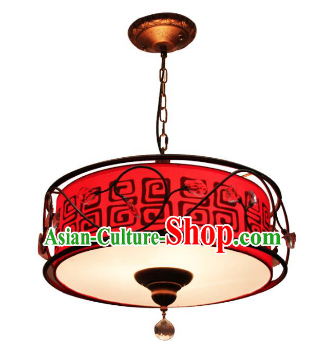 Traditional Chinese Ancient Palace Lantern Red Ceiling Lanterns Hanging Lanern