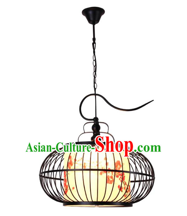 Traditional Chinese Ancient Palace Lantern Birdcage Ceiling Lanterns Hanging Lanern