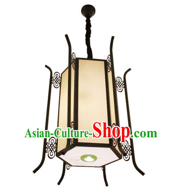 Traditional Chinese Ancient Hexagon Palace Lantern Ceiling Lanterns Hanging Lanern