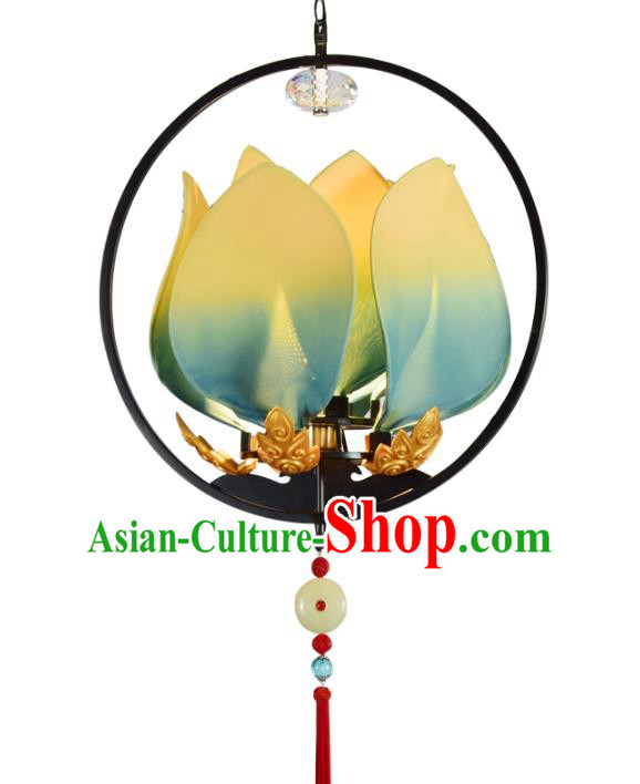 Traditional Chinese Ancient Palace Lantern Lotus Ceiling Lanterns Hanging Lanern