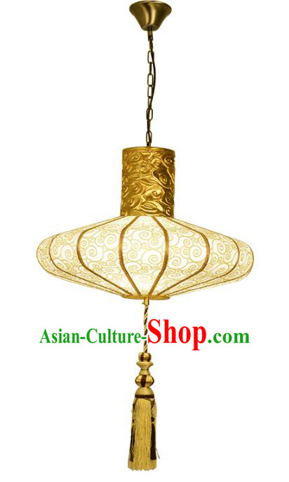 Traditional Chinese Palace Lantern Cloud Pattern Ceiling Lamp Ancient Lanern