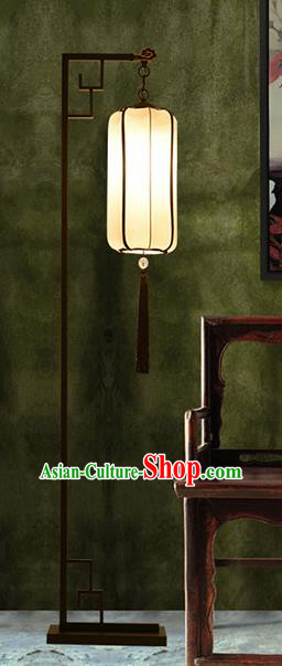 Traditional Asian Chinese Lantern China Ancient Electric Floor Lamp Palace Lantern
