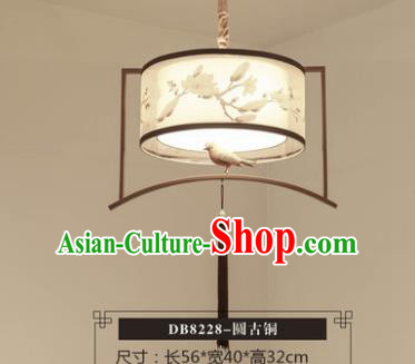 Asian China Traditional Handmade Bronze Lantern Classical Lamp Ancient Palace Ceiling Lanern