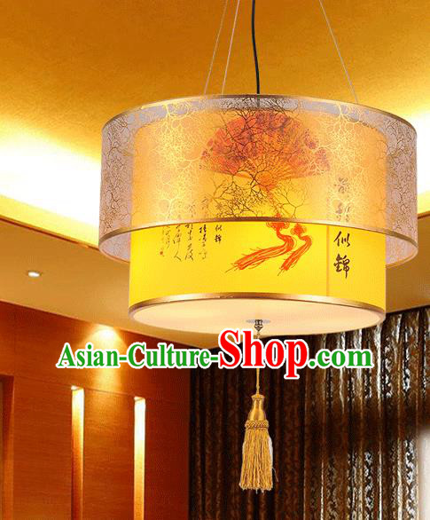 Asian China Traditional Handmade Lantern Palace Printing Parchment Lanterns Ceiling Lamp Ancient Lanern