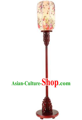 Traditional Asian Chinese Lanterns China Ancient New Year Printing Floor Lamp Palace Lantern