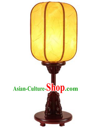 Traditional Asian Chinese Desk Lanterns China Ancient New Year Yellow Lamp Palace Lantern