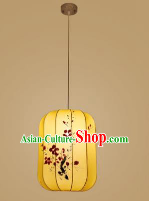 Traditional China Hand Painting Hanging Lantern Ancient Lanterns Palace Ceiling Lamp