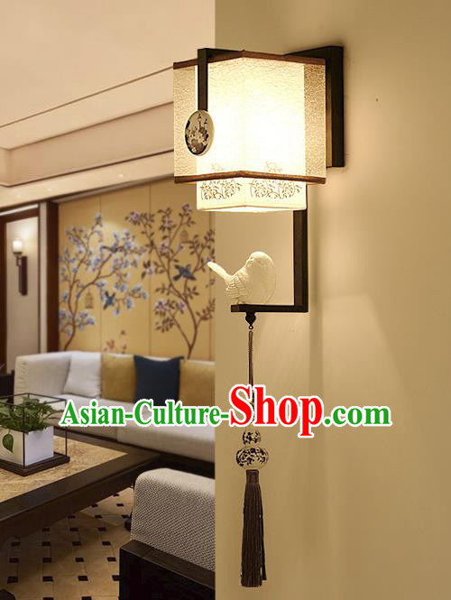 Traditional Asian China Style Veil Lanterns Chinese Ancient Wall Lamp Palace Lantern